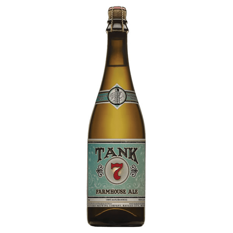Tank Brewing Farmhouse Ale by Boulevard Brewing Company