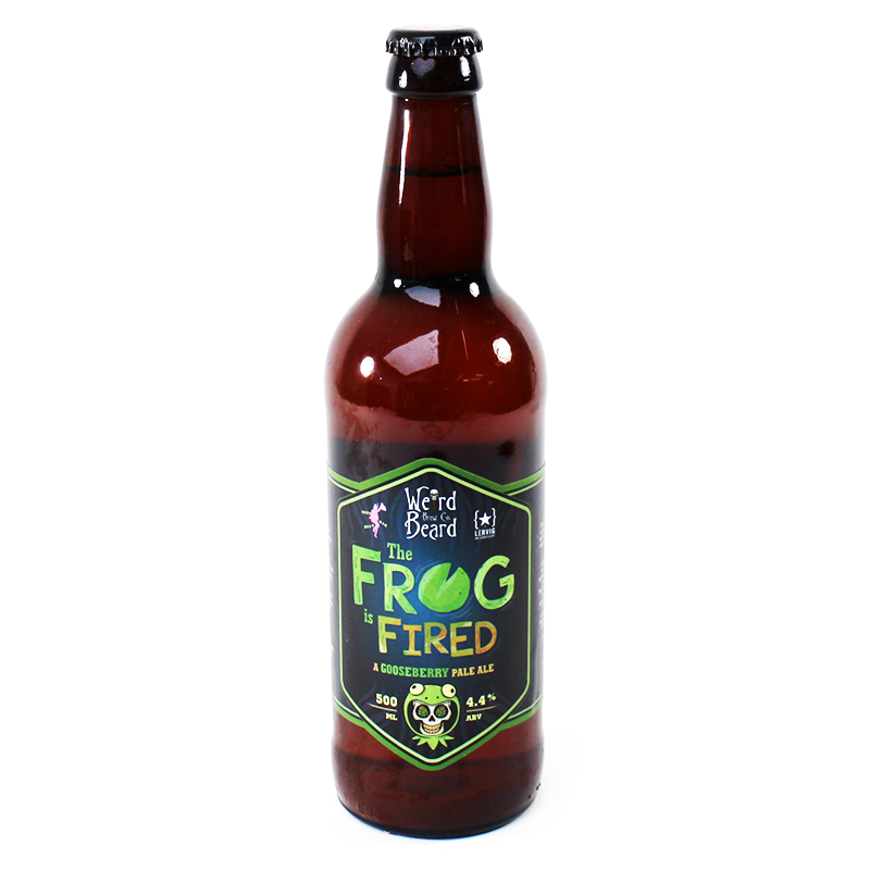 The Frog is Fired by Weird Beard Brew Co.