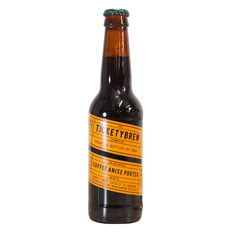 Coffee Anise Porter by Ticketybrew