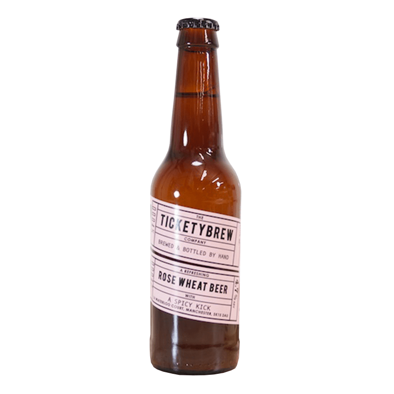 Rose Wheat Beer by Ticketybrew