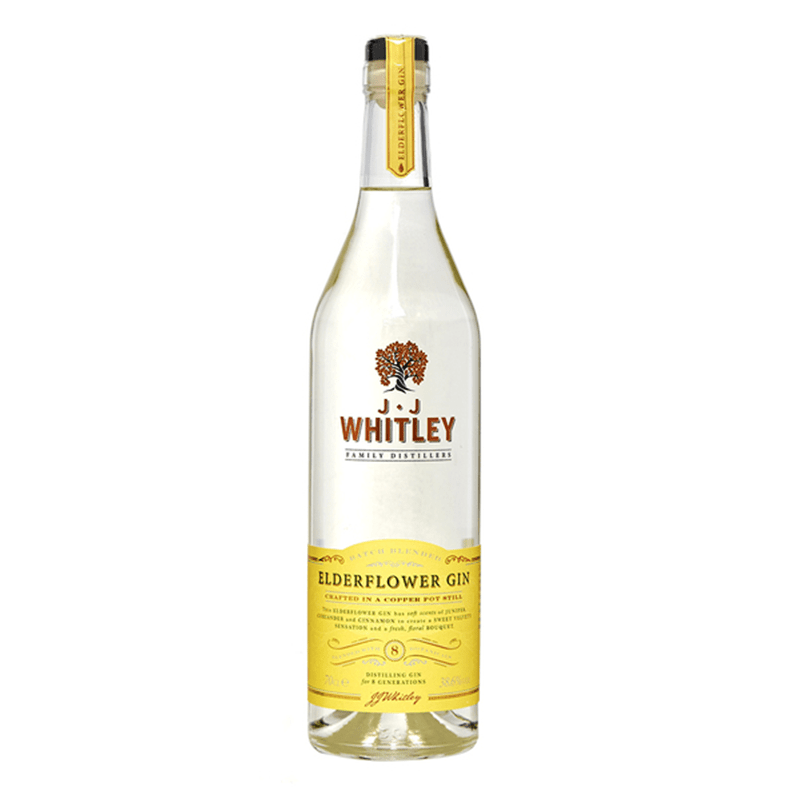 JJ Whitley Elderflower Gin by None