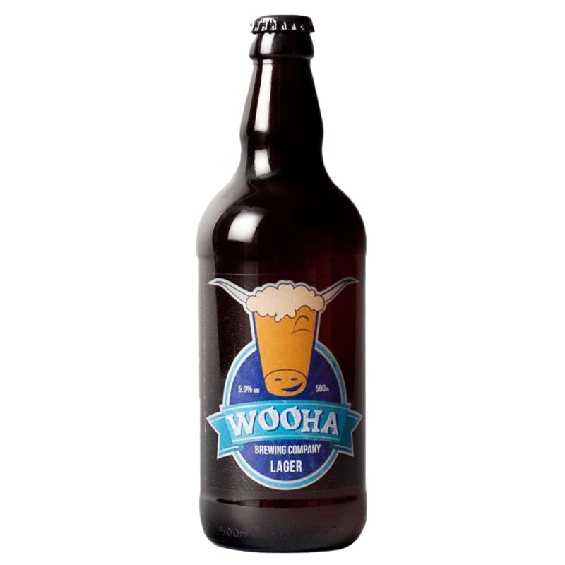 Wooha Lager by WooHa Brewing Company
