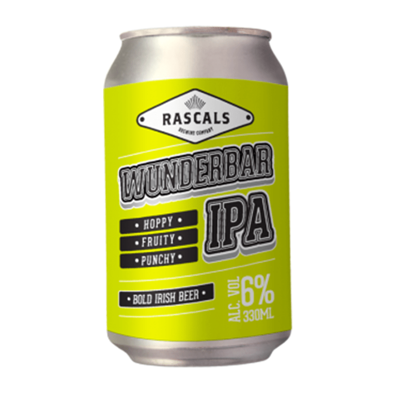 Wunderbar German IPA by Rascals Brewing Company