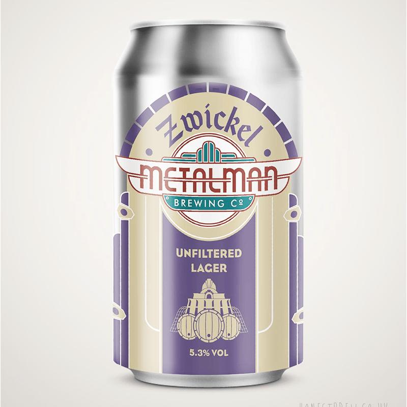 Zwickel by Metalman Brewing Co