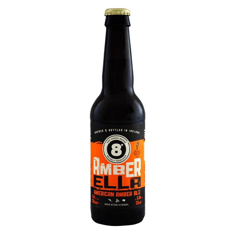 Amber Ella by Eight Degrees Brewing