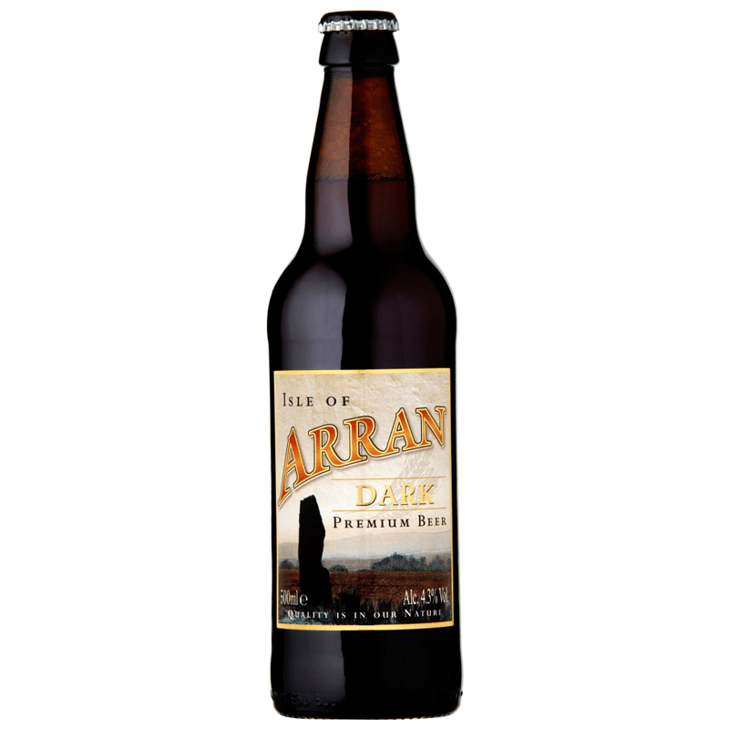 12 Bottles of Arran Dark Ale by None