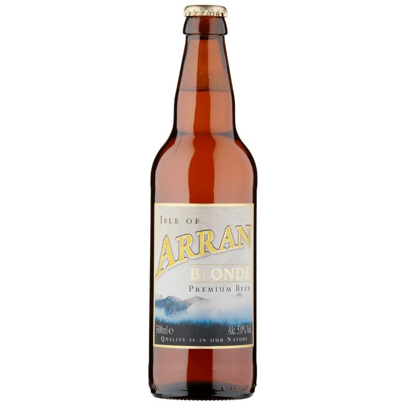 12 Bottles of Arran Blonde by None