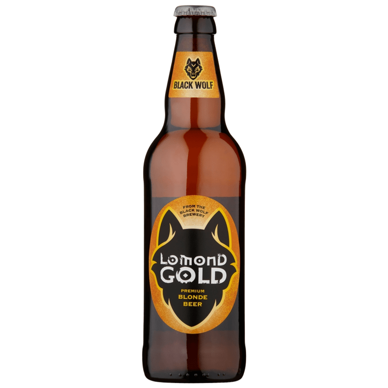 8 Bottles of Black Wolf Lomond Gold by None