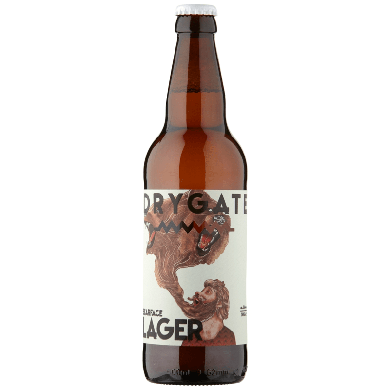 Drygate Bearface Lager by None