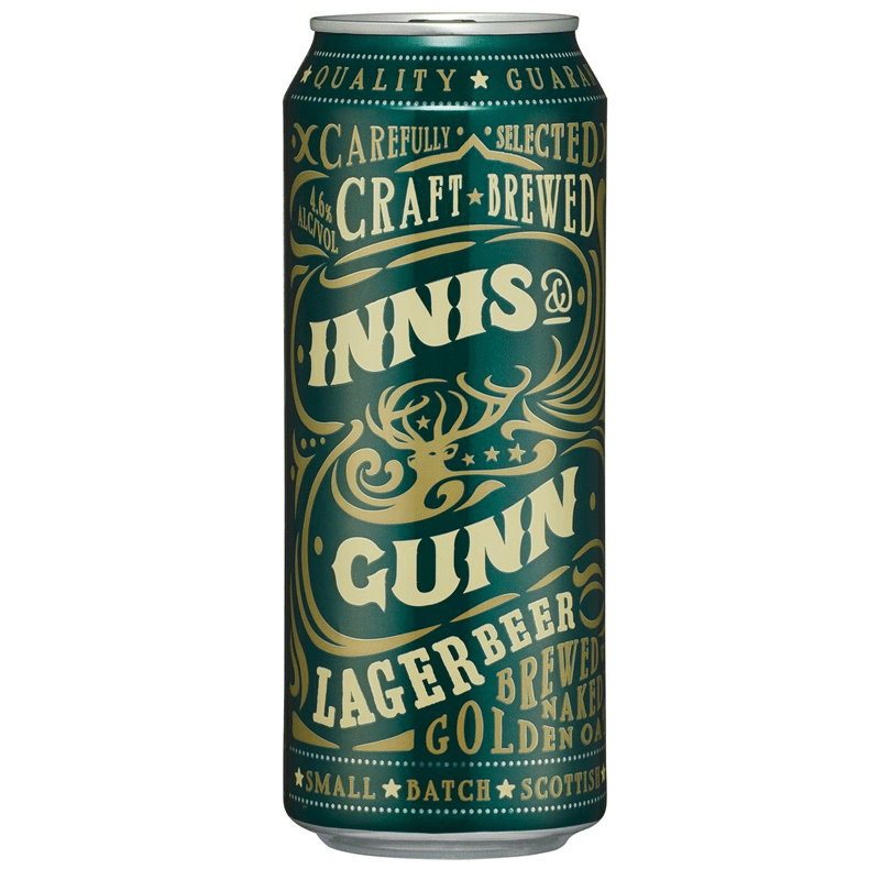 Innis & Gunn Lager 500ml by Innis & Gunn