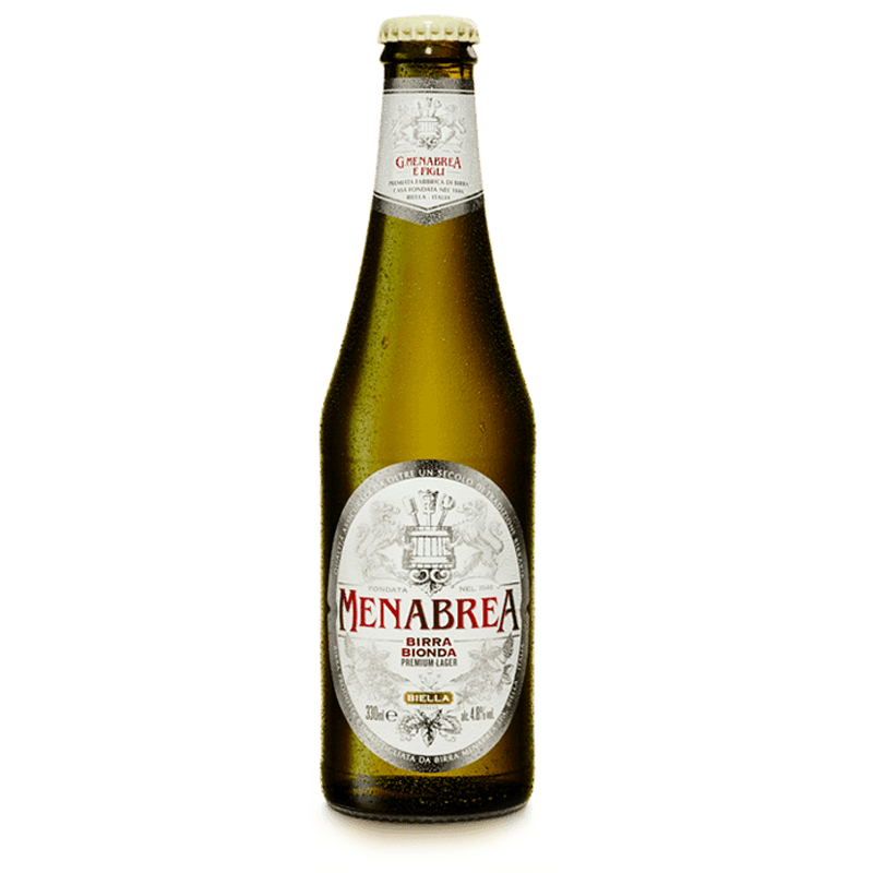 Menabrea Birra Bionda by None