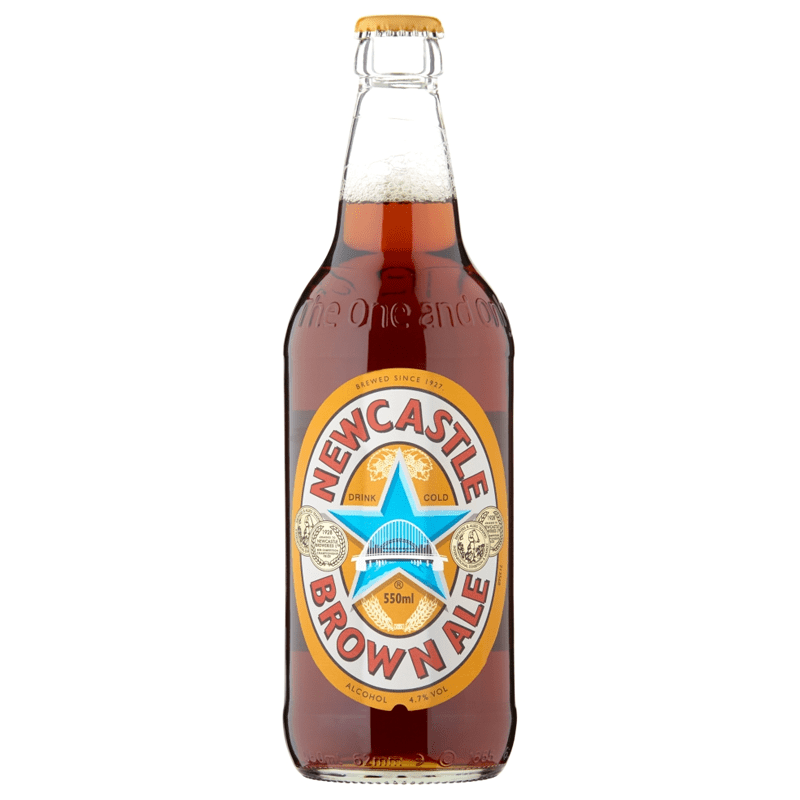 12 Bottles of Newcastle Brown Ale by None