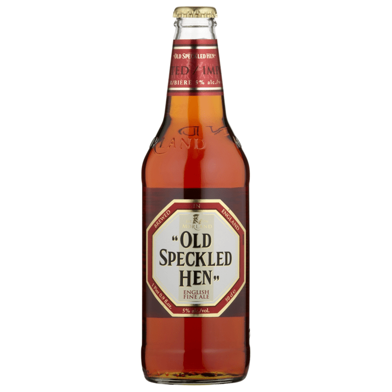 12 Cans of Old Speckled Hen by None