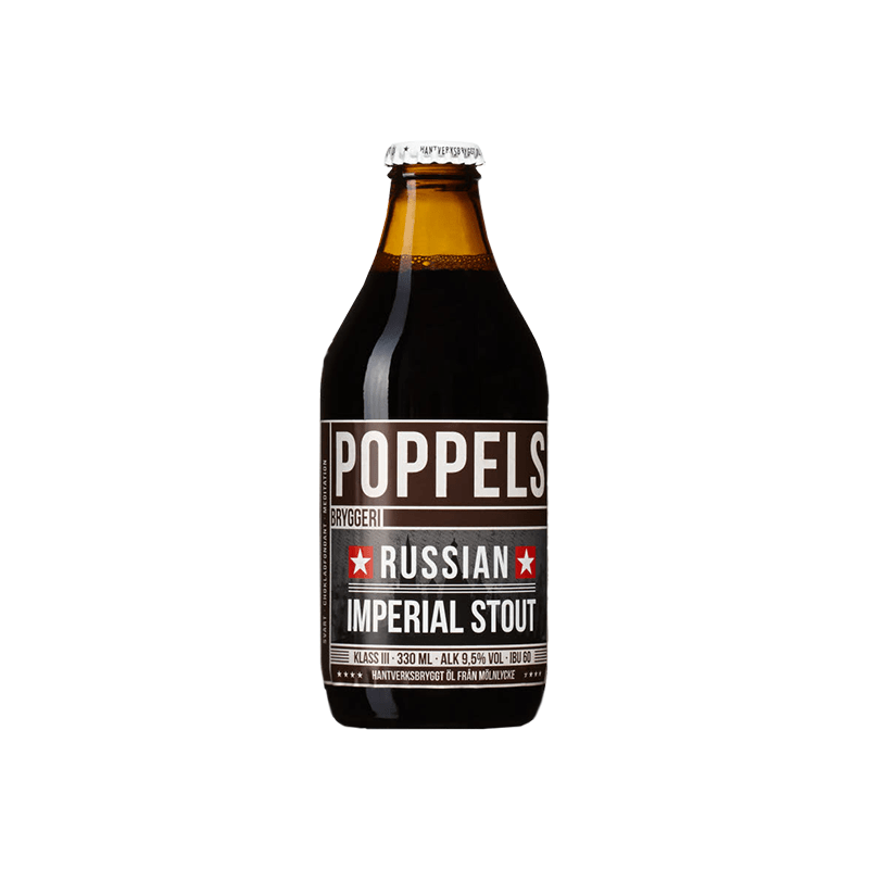 Russian Imperial Stout by Poppels Bryggeri