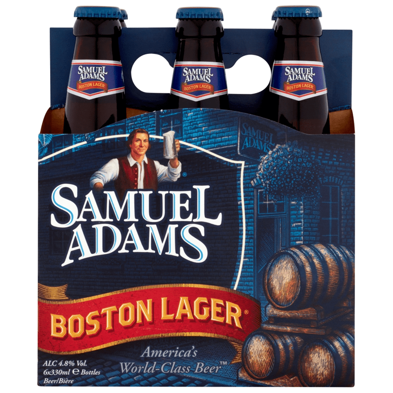 Samuel Adams Boston Lager by None