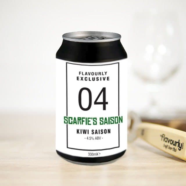 Scarfie's Saison by Flavourly