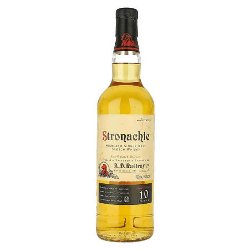 Stronachie 10 Y.O. Malt Whisky by None