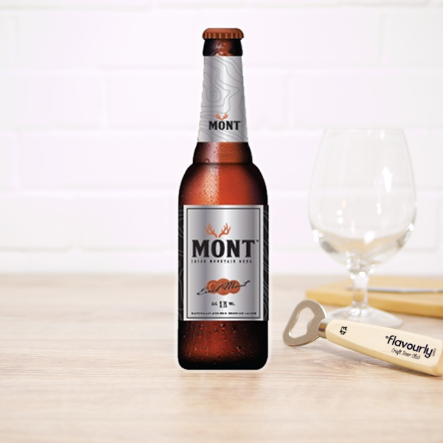 MONT Irish Mountain Beer by Manor Brewing Co.