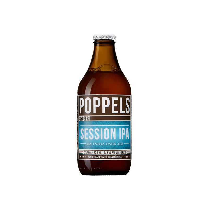 Session IPA by Poppels Bryggeri
