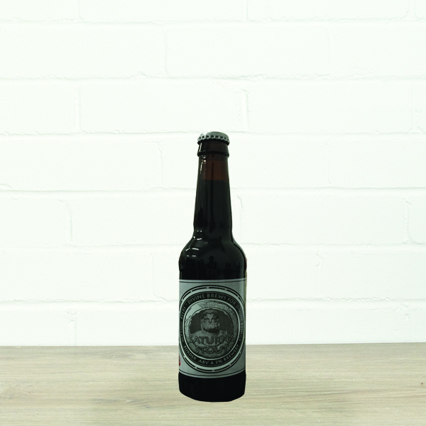Saturn's Stout by Hadrian Border Brewery