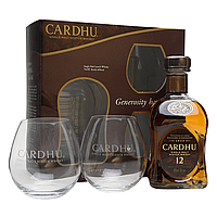 Cardhu 12 Y.O. Malt 2 Glass Pack by None